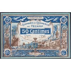 Fécamp - Pirot 58-1 - 50 centimes - 06/08/1920 - Etat : SUP+