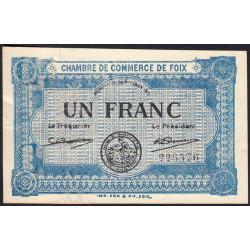 Foix - Pirot 59-03a - 1 franc - 1915 - Etat : SUP
