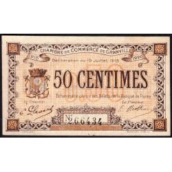 Granville - Pirot 60-1 - 50 centimes - 19/07/1915 - Etat : SUP+