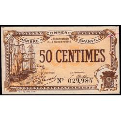 Granville - Pirot 60-11 - 50 centimes - 1917 - Etat : SPL