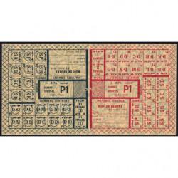 Rationnement - Denrées diverses - Catégorie P1 - Titre 4176 - 1948 - Etat : SUP+