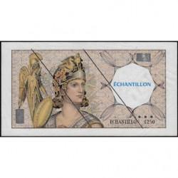 Athena à gauche - Format 100 francs DELACROIX - DIS-03-H-02 - Etat : TTB+