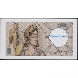 Athena à gauche - Format 100 francs DELACROIX - DIS-03-H-02 - Etat : NEUF