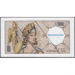 Athena à gauche - Format 100 francs DELACROIX - DIS-03-H-02 - Etat : TTB