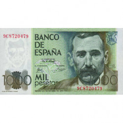 Espagne - Pick 158 - 1'000 pesetas - 23/10/1979 - Série 9C - Etat : NEUF