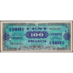 VF 25-08 - 100 francs série 8 - France - 1944 (1945) - Etat : SUP