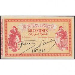 Algérie - Philippeville 142-3 - 50 centimes - 10/11/1914 - Etat : SUP