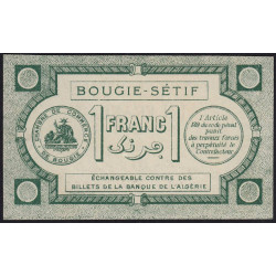 Algérie - Bougie-Sétif 139-02 - 1 franc - 17/04/1915 - Etat : SPL+