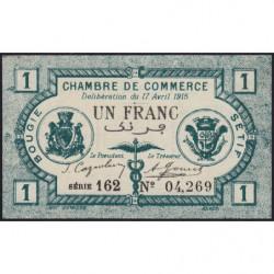 Algérie - Bougie-Sétif 139-02 - 1 franc - 17/04/1915 - Etat : NEUF