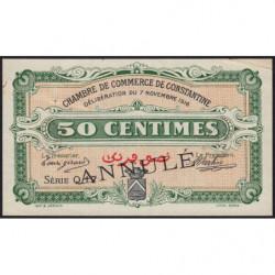 Algérie - Constantine 140-7 annulé - 1 franc - Série Q17 - 07/11/1916 - Etat : TTB+