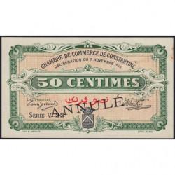 Algérie - Constantine 140-7 annulé - 1 franc - Série V22 - 07/11/1916 - Etat : SUP