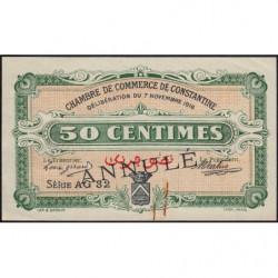 Algérie - Constantine 140-9 annulé - 1 franc - Série AG32 - 07/11/1916 - Etat : TTB+