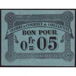 Algérie - Constantine 140-46 - 0,05 franc - 12/10/1915 - Etat : NEUF