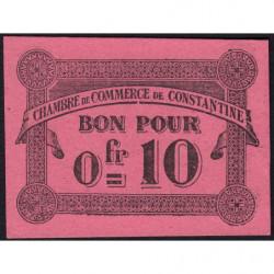 Algérie - Constantine 140-47 - 0,10 franc - 12/10/1915 - Etat : NEUF