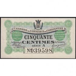 Algérie - Constantine 140-1a - 1 franc - Série A - 01/05/1915 - Etat : SUP+