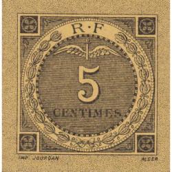 Algérie - Bougie-Sétif 139-9b - 5 centimes - 1916 - Etat : SPL
