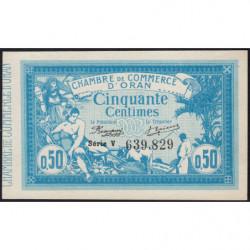 Algérie - Oran 141-04 - 50 centimes - Série V - 10/11/1915 - Etat : pr.NEUF