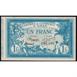 Algérie - Oran 141-20 - 1 franc - Série III - 1918 - Etat : SUP