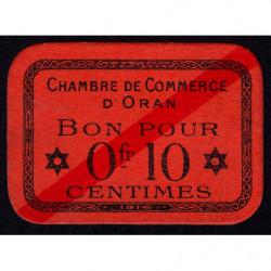 Algérie - Oran 141-51 - 0,10 franc - 1916 - Etat : NEUF
