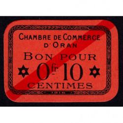 Algérie - Oran 141-51 - 0,10 franc - 1916 - Etat : TTB