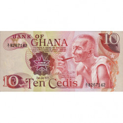 Ghana - Pick 16f - 10 cedis - Série S/1 - 02/01/1978 - Etat : NEUF