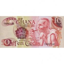 Ghana - Pick 16f - 10 cedis - Série S/1 - 02/01/1978 - Etat : pr.NEUF