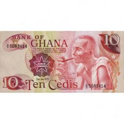 Ghana - Pick 16f - 10 cedis - Série A/2 - 02/01/1978 - Etat : NEUF