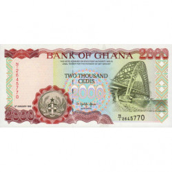 Ghana - Pick 30b - 2'000 cedis - 06/01/1995 - Etat : NEUF