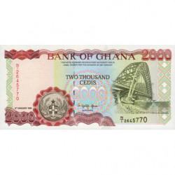 Ghana - Pick 30b - 2'000 cedis - Série N/1 -  06/01/1995 - Etat : NEUF
