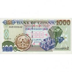 Ghana - Pick 32c - 1'000 cedis - Série AG - 02/05/1998 - Etat : NEUF