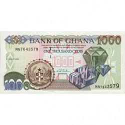 Ghana - Pick 32i - 1'000 cedis - Série MN - 04/08/2003 - Etat : NEUF
