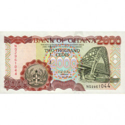 Ghana - Pick 33h - 2'000 cedis - 04/08/2003 - Etat : NEUF