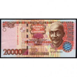 Ghana - Pick 36b - 20'000 cedis - Série EP - 04/08/2003 - Etat : TTB