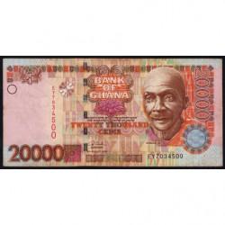 Ghana - Pick 36c - 20'000 cedis - Série EY - 04/08/2006 - Etat : TTB