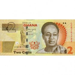 Ghana - Pick 37Ad - 2 cedis - 01/07/2015 - Etat : NEUF