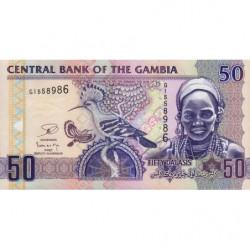 Gambie - Pick 28c - 50 dalasis - Série G - 2013 - Etat : NEUF
