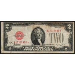 Etats Unis d'Amérique - Pick 378c - 2 dollars - 1928 C - Etat : TB