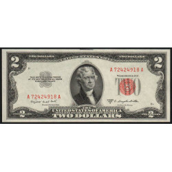 Etats Unis d'Amérique - Pick 380b - 2 dollars - 1953 B - Etat : SPL