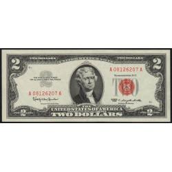 Etats Unis d'Amérique - Pick 382a - 2 dollars - 1963 - Etat : SPL