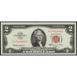 Etats Unis d'Amérique - Pick 382b - 2 dollars - 1963 A - Etat : NEUF