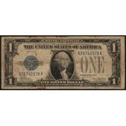 Etats Unis d'Amérique - Pick 412 - 1 dollar - 1928 - Etat : B