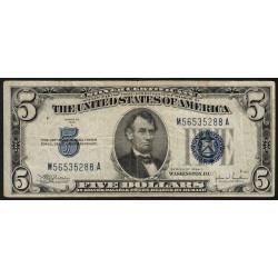 Etats Unis d'Amérique - Pick 414Ac - 5 dollars - 1934 C - Etat : TB+