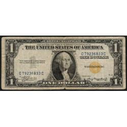 Etats Unis d'Amérique - Pick 416AY - 1 dollar - 1935 A - Etat : TB