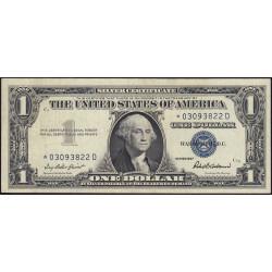 Etats Unis d'Amérique - Pick 419r - 1 dollar - 1957 - Remplacement - Etat : SUP