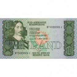 Afrique du Sud - Pick 120e - 10 rand - 1990 - Etat : NEUF