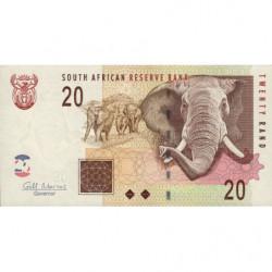 Afrique du Sud - Pick 129b - 20 rand - 2009 - Etat : SPL