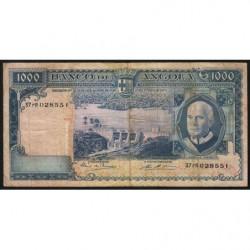 Angola - Pick 98 - 1'000 escudos - Série 37 rR - 10/06/1970 - Etat : TB-