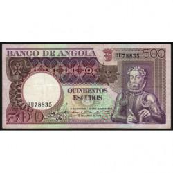 Angola - Pick 107 - 500 escudos - 10/06/1973 - Etat : TB+