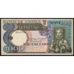 Angola - Pick 108 - 1'000 escudos - 10/06/1973 - Etat : TTB+