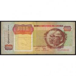 Angola - Pick 129c - 1'000 kwanzas - Série CR - 04/02/1991 - Etat : TB